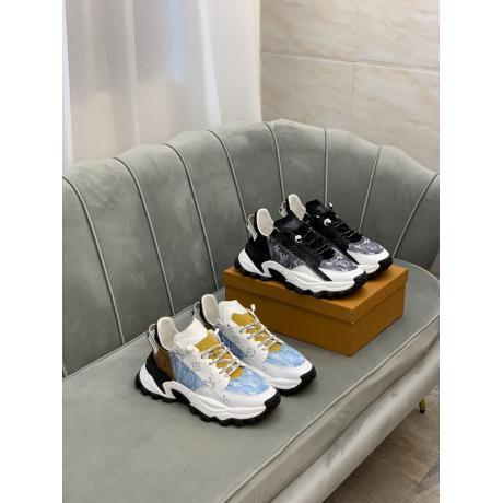 LOUIS VUITTON ルイヴィトン 牛革運動靴スニーカーローカット2色本当に届くブランドコピー工場直営店line