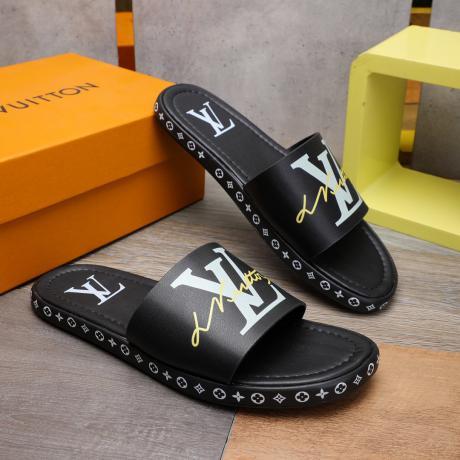 LOUIS VUITTON ヴィトン メンズ夏カジュアルシューズ牛革おしゃれビジネス靴偽物販売口コミ