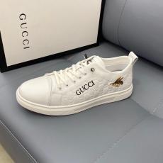 グッチ GUCCI メンズカジュアルシューズ牛革新作2色靴コピー最高品質激安販売工場直売店