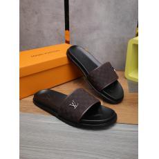 LOUIS VUITTON ルイヴィトン カジュアルシューズ牛革防滑おしゃれコンビネーションしやすい軽量スリッパ 人気商品fashion3色格安コピー靴口コミ
