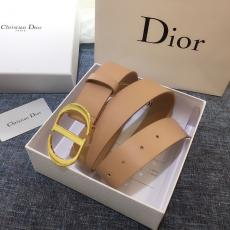 即完売必至【追跡付】 ディオール Dior 両面細部品質高牛革定番幅3.4cm5色激安販売ベルト工場直営優良店